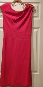 NWT Kay Unger Fuschia Cocktail Dress size 8